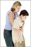 Прием Хаймлиха — что делать, если ребенок подавился?