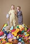 Ребенок не хочет убирать игрушки