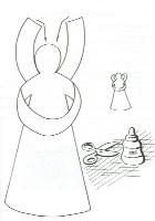 ангел поделка
