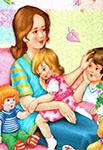 10 секретов, как все успеть многодетной маме