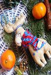 Мастер-класс по изготовлению рождественского оленя от мастерской «Grapedolls anddecor»