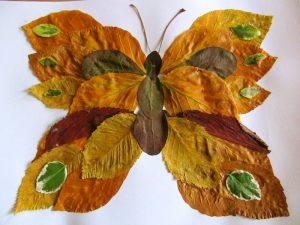 9MnWlRbgfvk 300x225 - Осенние поделки: аппликации из осенних листьев. Коллаж из осенних листьев