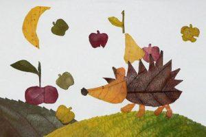 GefihyIzPoc 300x200 - Осенние поделки: аппликации из осенних листьев. Коллаж из осенних листьев