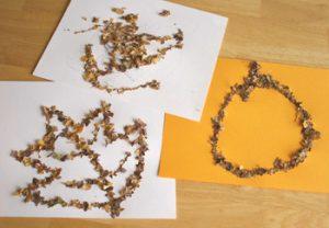 leaf11 300x208 - Осенние поделки: аппликации из осенних листьев. Коллаж из осенних листьев