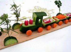 veg42 300x219 - Поделки из овощей и фруктов