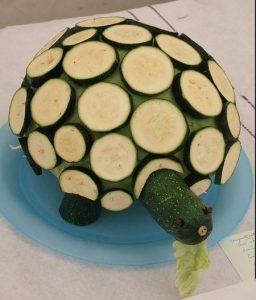 veg44 1 256x300 - Поделки из овощей и фруктов