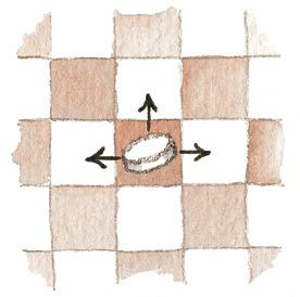 1 1 - Как научить ребенка играть в шашки: правила игры, 2 варианта