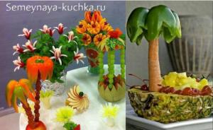ovoshchi11 300x184 - Поделки из овощей для школы и сада