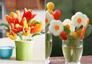 ovoshchi12 300x208 - Поделки из овощей для школы и сада