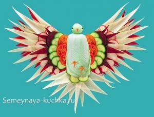 ovoshchi30 300x228 - Поделки из овощей для школы и сада