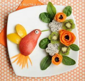 ovoshchi32 300x287 - Поделки из овощей для школы и сада
