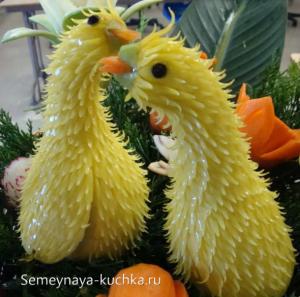ovoshchi36 300x297 - Поделки из овощей для школы и сада