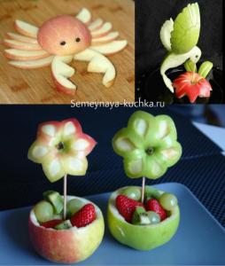 ovoshchi39 254x300 - Поделки из овощей для школы и сада