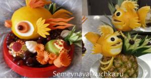 ovoshchi46 300x158 - Поделки из овощей для школы и сада