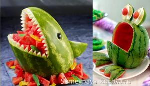 ovoshchi53 300x172 - Поделки из овощей для школы и сада