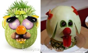ovoshchi61 300x182 - Поделки из овощей для школы и сада