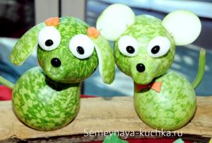 ovoshchi62 300x202 - Поделки из овощей для школы и сада