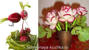 ovoshchi9 300x167 - Поделки из овощей для школы и сада