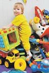 Не покупайте ребенку много игрушек