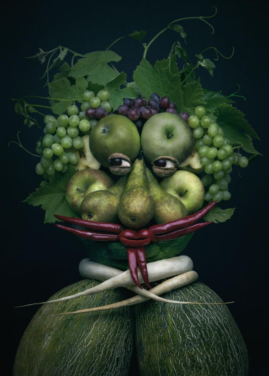 Смешные картинки с фруктами, добрым утром