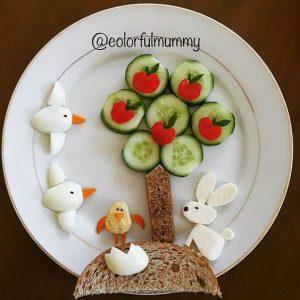 """8036a1c0d3874d9421fac749cff6ca29 300x300 - """"Вкусные картины"""" из овощей и фруктов: съедобно, полезно и увлекательно!"""