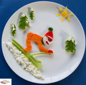 """f18610186e058eff802a149b29a6746b 300x298 - """"Вкусные картины"""" из овощей и фруктов: съедобно, полезно и увлекательно!"""