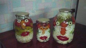 """konservaciya 300x169 - """"Вкусные картины"""" из овощей и фруктов: съедобно, полезно и увлекательно!"""