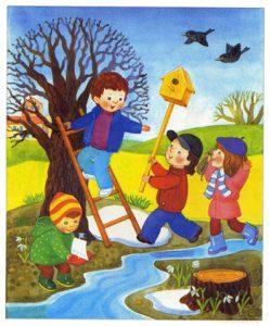vesna lesson 01 249x300 - Времена года для детей