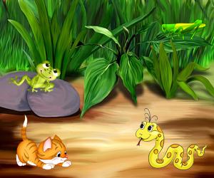 zagadki na angliyskom kuznechik 300x250 - Авторские загадки для детей с ответами в картинках