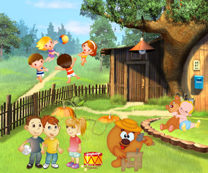 zagadki na angliyskom myach 300x250 - Авторские загадки для детей с ответами в картинках