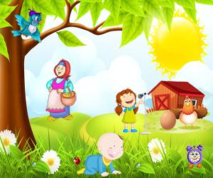 zagadki na angliyskom petukh 300x250 - Авторские загадки для детей с ответами в картинках