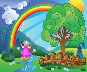 zagadki na angliyskom raduga 300x250 - Авторские загадки для детей с ответами в картинках
