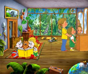 zagadki na angliyskom zerkalo 300x250 - Авторские загадки для детей с ответами в картинках