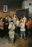 Как и чему учили детей на Руси 300 лет назад