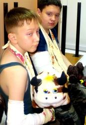 IMG 6873 - Ребенок грустит в больнице. Как победить больничный синдром?