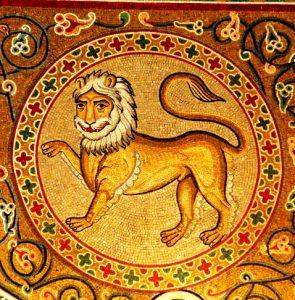 Lev aslan - Животные на иконах: добрые, мудрые, очеловеченные