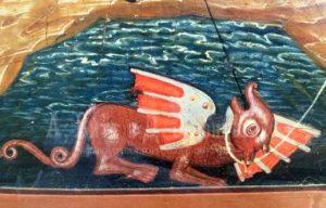 Zmej chudo - Животные на иконах: добрые, мудрые, очеловеченные