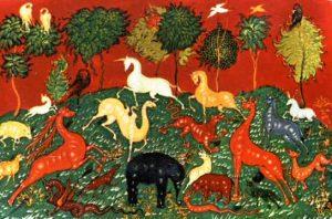 golii 02 - Животные на иконах: добрые, мудрые, очеловеченные
