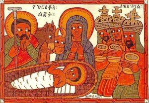 jefiopskaja ikona rozhdestva - Животные на иконах: добрые, мудрые, очеловеченные