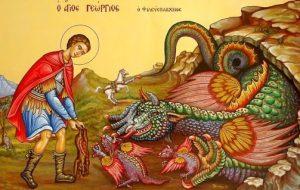 monstr - Животные на иконах: добрые, мудрые, очеловеченные