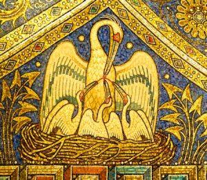 pelikan - Животные на иконах: добрые, мудрые, очеловеченные
