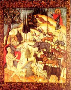 raj - Животные на иконах: добрые, мудрые, очеловеченные
