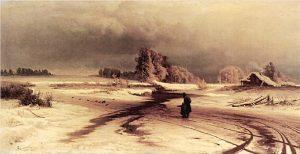 1vasiliev 300x154 - «По ветвям развешен иней»: зимний Фет – детям