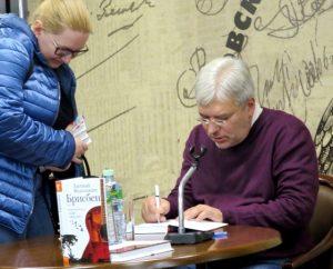 IMG 2211 - Писатель Евгений Водолазкин: «В книгах бытие более осмысленное»