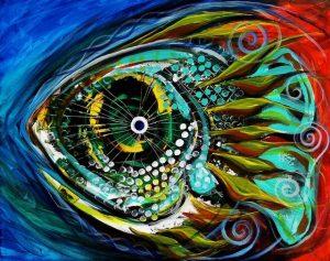 guash ryba 300x237 - Стихи Андрея Коровина: Жук, Поющее Дерево и Зелёная звезда