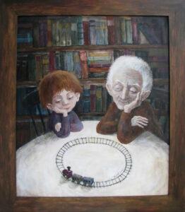 405705 original - Ангелы Нино: живопись как паломничество в детство