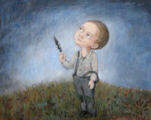 406327 original - Ангелы Нино: живопись как паломничество в детство
