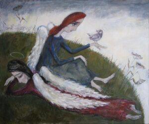 414117 original - Ангелы Нино: живопись как паломничество в детство