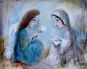 415673 original - Ангелы Нино: живопись как паломничество в детство