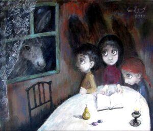 418048 original - Ангелы Нино: живопись как паломничество в детство